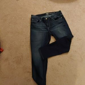Levi Signature slim cuffed jeans 16 W